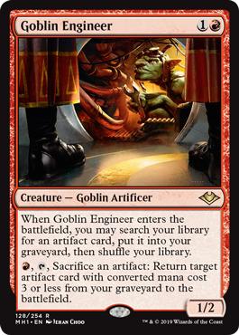 Goblin Engineer - Foil