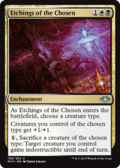 Etchings of the Chosen - Foil