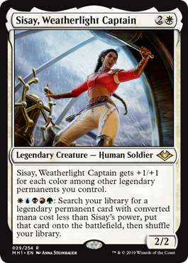 Sisay, Weatherlight Captain - Foil