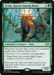 Ayula, Queen Among Bears - Foil