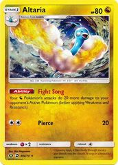 Altaria - 40a/70 - Holo Rare - Alternate Art Promo