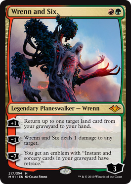 Wrenn and Six - Foil