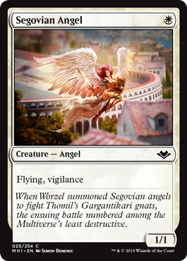 Segovian Angel - Foil