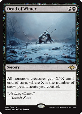 Dead of Winter - Foil