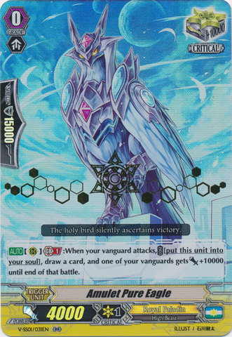 Amulet Pure Eagle - V-SS01/031EN - RR - Hot Stamp