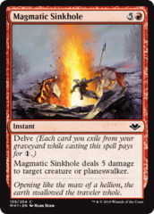 Magmatic Sinkhole - Foil