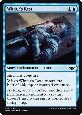 Winters Rest - Foil