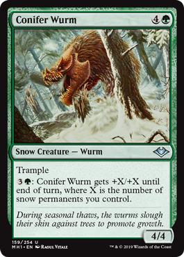 Conifer Wurm - Foil