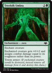 Treefolk Umbra - Foil