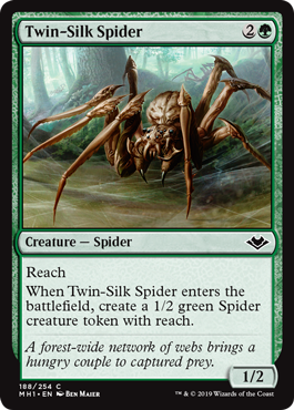 Twin-Silk Spider - Foil