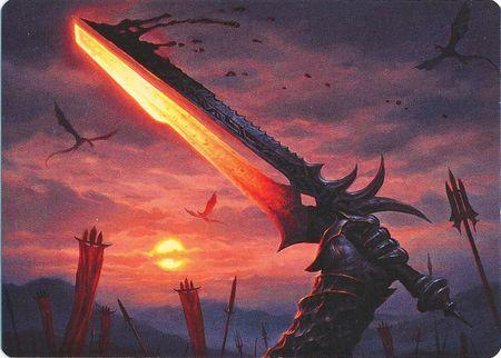 Sword of Sinew and Steel - Art Series