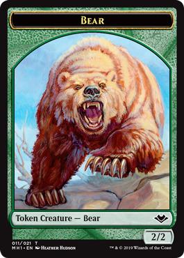 Bear Token - Foil