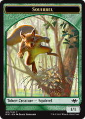 Squirrel Token - Foil