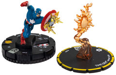 Captain America w/ Time Gem - 043 & s002