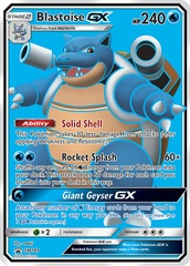 Blastoise GX - SM189 - SM Black Star Promo on Channel Fireball