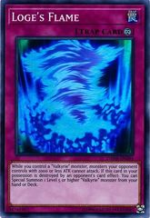 Loge's Flame - DANE-EN091 - Super Rare - Unlimited Edition