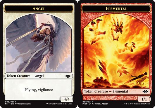 Angel Token // Elemental Token (008)