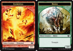 Elemental Token (008) // Rhino Token