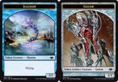 Illusion Token // Golem Token