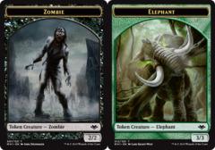 Zombie Token // Elephant Token