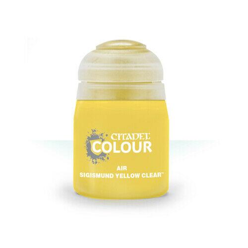 Air: Sigismund Yellow Clear (24ml)