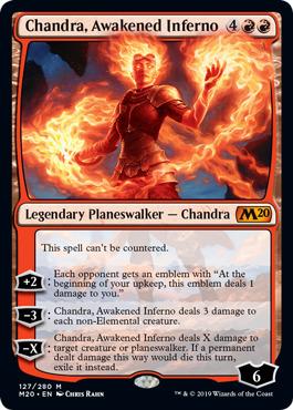 Chandra, Awakened Inferno - Foil