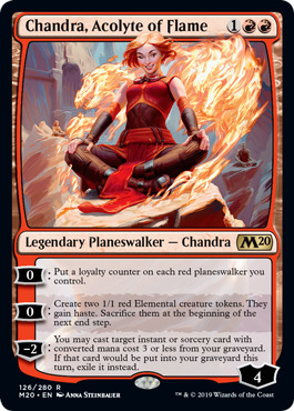Chandra, Acolyte of Flame - Foil