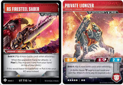 Private Lionizer - Ground Command Artillery // RS Fire Steel Saber