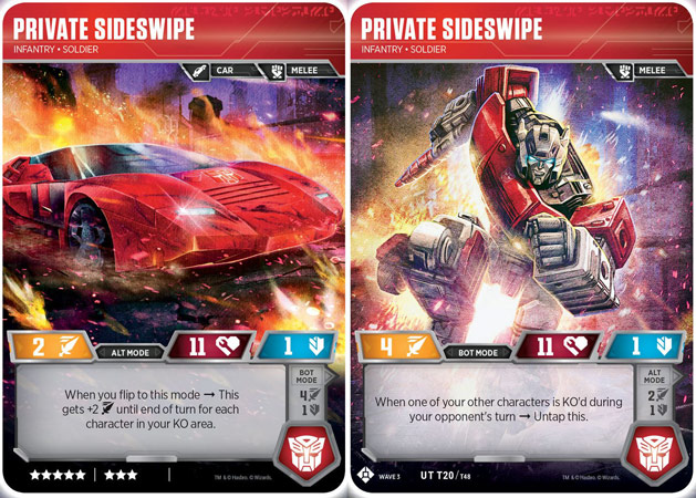 Private Sideswipe // Infantry Soldier