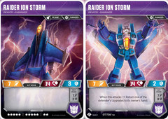 Raider Ion Storm // Infantry Rainmaker