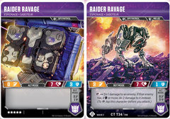 Raider Ravage // Espionage Saboteur