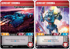 Sergeant Chromia // Special Ops Counterintelligence
