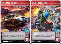 Specialist Ratchet // Engineering Rescue & Repair