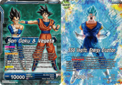 Son Goku & Vegeta // SSB Vegito, Energy Eruption - BT7-025 - C - Foil