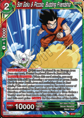 Son Goku & Piccolo, Budding Friendship - BT7-112 - R