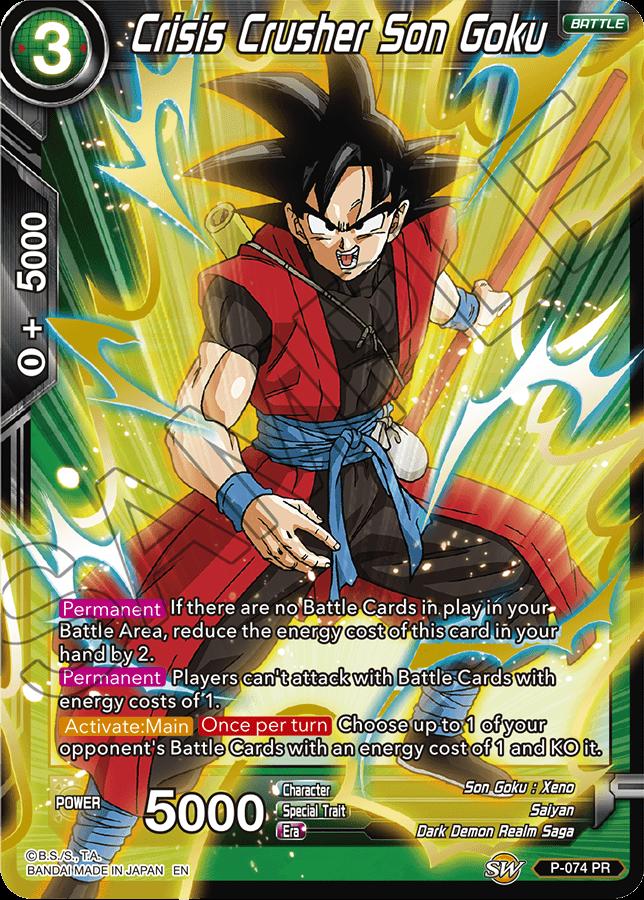Crisis Crusher Son Goku - P-074 - PR - Special Anniversary Box - Foil