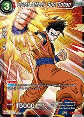 Burst Attack Son Gohan - P-049 - Promotion Cards - Special Anniversary Box - Foil
