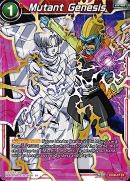 Mutant Genesis - EX06-07 - EX - Foil
