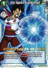 King Vegeta's Surprise Attack - BT1-079 - UC - Gold Stamped Otakon Promo