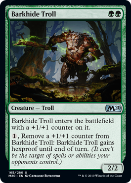 Barkhide Troll - Foil