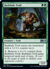 Barkhide Troll - Foil on Channel Fireball