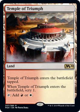 Temple of Triumph - Magic 2020