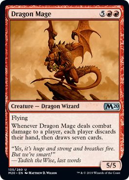 Dragon Mage - Foil