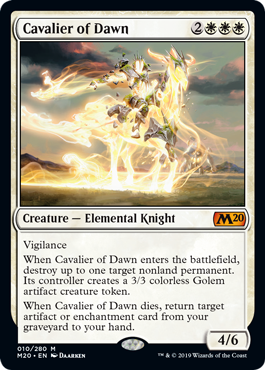 Cavalier of Dawn - Foil