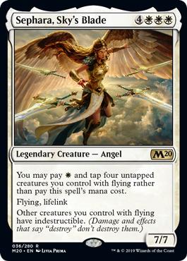 Sephara, Skys Blade