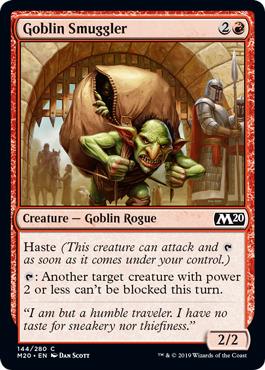 Goblin Smuggler - Foil