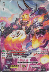 Heat Elemental, Bobo - PR/0461EN - PR (FOIL)