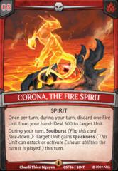 Corona, the Fire Spirit