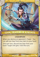 Liam, Traitor of Knights