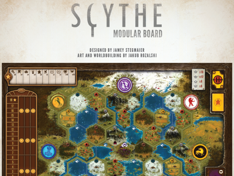 Scythe - Modular Board Expansion